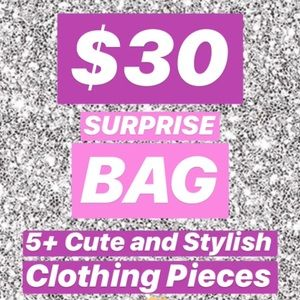 Other - Surprise Mystery Cute Clothes Bundle Bag